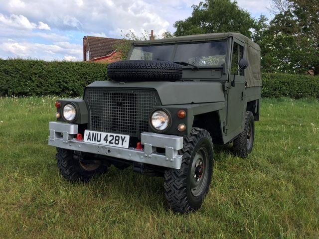 A Land Rover Lightweight model
